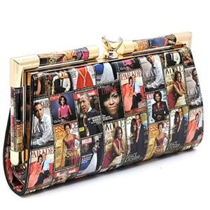 My Bag Lady Online Bags - Michelle Obama Magazine Clutch